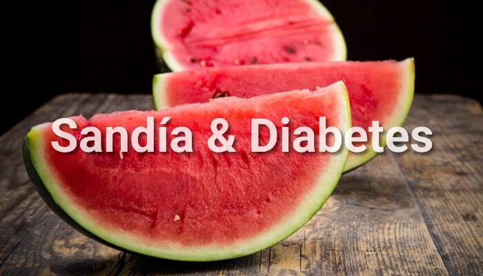 melón dulce y diabetes