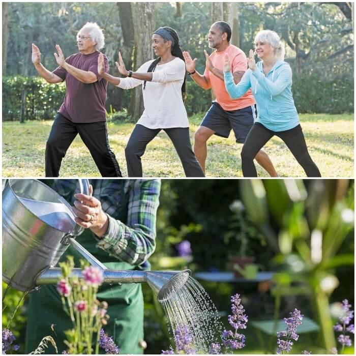Los ejercicios y la diabetes tipo 2