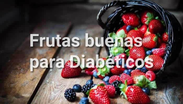 frutas para comer para persona con diabetes