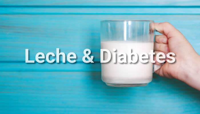 diabetes tipo 2 dieta nutrición láctea