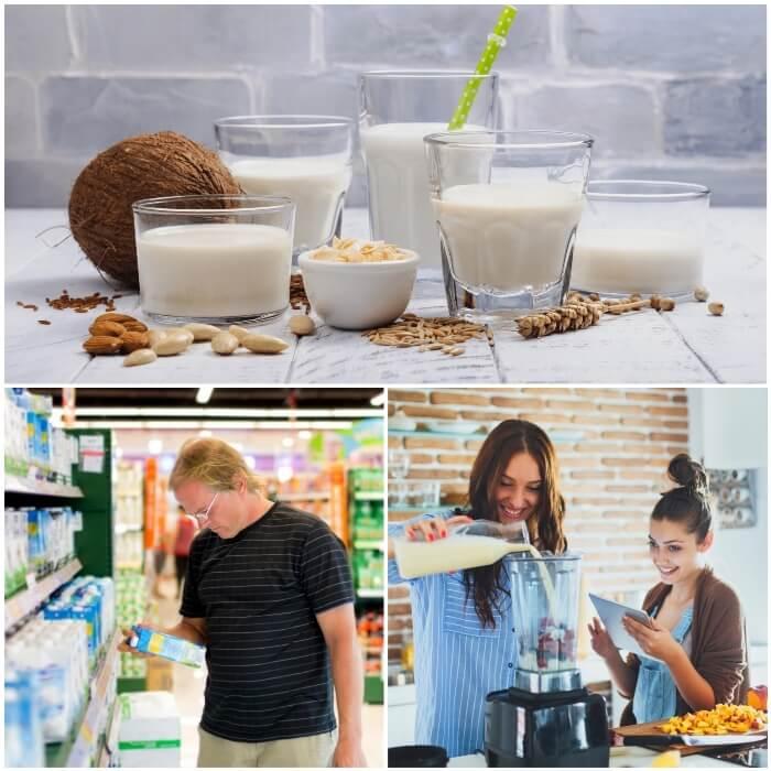 Tipos de leche para la diabetes