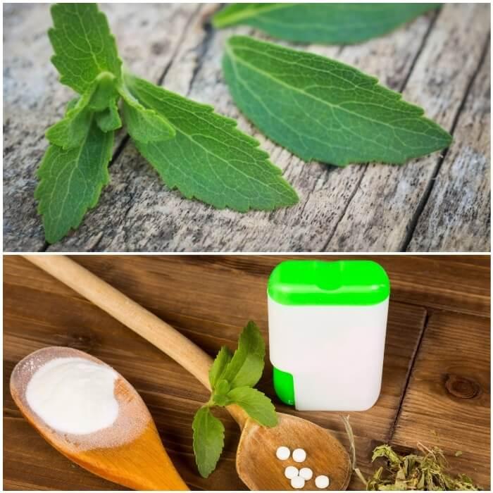 Tipos de stevia para diabéticos