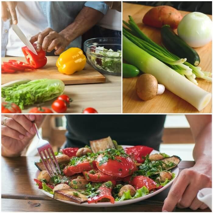Vegetales sin almidón para diabéticos